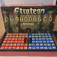 Milton Bradley Vintage Stratego Board Game Strategy 1996 COMPLETE