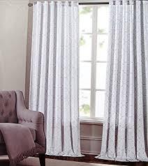 amazon com max studio set of 2 window curtains panels drapes