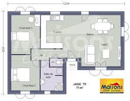 plan maison 90m2 plain pied 3 chambres maison 90m2 gratuit plan de plain pied newsindo co