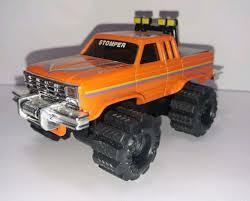 100 Stomper Toy Trucks Schaper II Trendsetters Rare Orange Ford F100 In EUC Runs