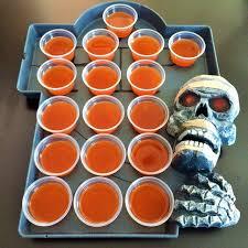 Halloween Jello Molds by Fireball Jello Shots Socal Mommy