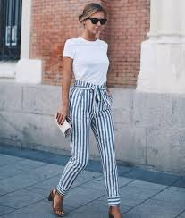 20 Outfit Ideas To Have A Striped Look For Summer