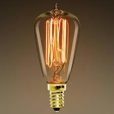 25 watt vintage antique light bulb st38