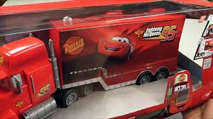 100 Lightning Mcqueen Truck Disney Pixar Cars Remote Control Mack Crashes Into RC U