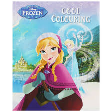 Disney Frozen Cool Colouring Book Zoom