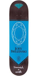 Are Cliche Skateboard Decks Good by Joey Brezinski Diamond Skateboard Deck 7 75