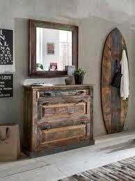 sit schuhkommode riverboat aus recyceltem altholz shabby chic vintage