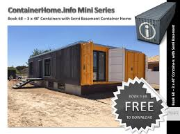 100 Containers Homes Shipping Container Book 68 By Shippingcontainerhomes