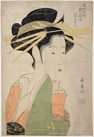 Allure Elegant Women In Japanese Prints