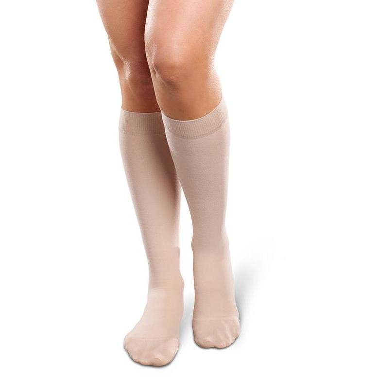 Therafirm Ease Opaque Women's Knee High 20-30 mmHg (natural-small-short)