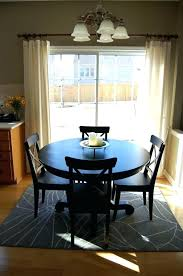 Rugs Under Dining Table Carpet Room Small Images Of