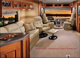 Unique Luxury Rv Interiors Motorhomes Inside Design Home View On