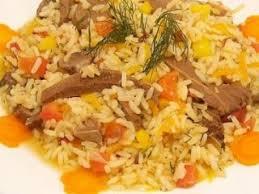 cuisiner coeur de porc riz pilaf au coeur de porc recette ptitchef