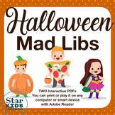 Halloween Mad Libs Esl by Halloween Mad Libs Teaching Resources Teachers Pay Teachers