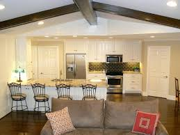 Ideas For Kitchen Dining Living Space Open And Room Small Plan