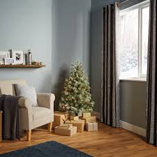 6ft Pre Lit Christmas Tree Bq by 4ft Fairview Pre Lit Led Christmas Tree Departments Diy At B U0026q
