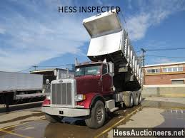 USED 2005 PETERBILT 357 TRI-AXLE ALUMINUM DUMP TRUCK FOR SALE IN ... Cabover Dump Truck Pictures Peterbilt Triaxle Alinum Dump Truck For Sale 11682 Elegant Used Trucks Mn 7th And Pattison Trucks Pin By Jerry On 18 Wheels And A Dozen Roses Pinterest Sold Peterbilt 359 15 Yard Box Cummins 400 Hp Diesel Unique Tri Axle Work Mini Japan Dump Truck Trucks Kenworth W900 Caterpillar C15 Acert 475 Hp Deanco Auctions