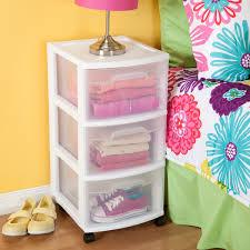 Sterilite 4 Drawer Cabinet 2 Pack by Sterilite 3 Drawer Cart Case Of 2 Walmart Com