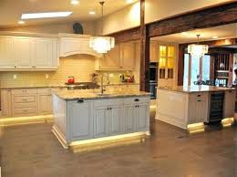 Tile A Kitchen Floor Under Cabinets Aesthetic Led Light Strips For Cabinet On Glass Backsplash Lighting