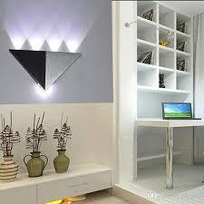 großhandel 5w dreieck led wandleuchte wandlen spiegelleuchte hintergrundbeleuchtung dekoratives licht led flur lichtleiste ktv wohnzimmer le