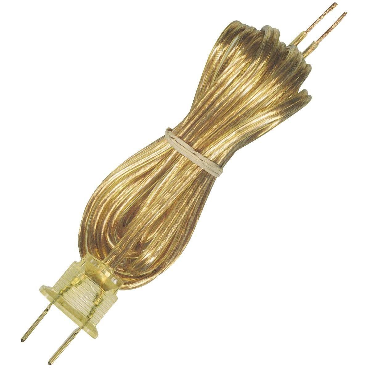 Westinghouse Lighting Corp Lamp Cord Set - Gold, 8'