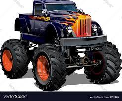 100 Monster Monster Truck Cartoon