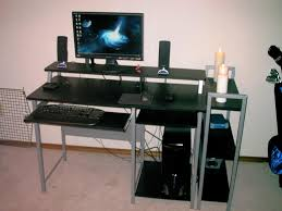 Corner Office Desk Walmart by Best Black Corner Computer Desk Designs Bedroom Ideas