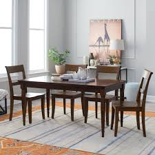 Table Oak Solid Wood And Modern Dining Antique Room World ...