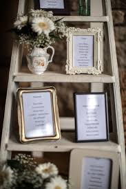 Shabby Chic Wedding Decorations Hire by Best 25 Ladder Table Plan Ideas On Pinterest Seating Plans