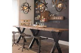 rustic industrial kitchen shades of light