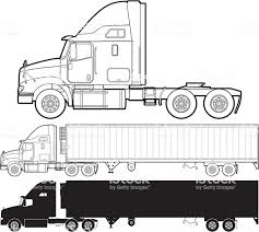 Truck Stock Vector Art & More Images Of Commercial Land Vehicle ... Semi Truck Outline Drawing Vector Squad Blog Semi Truck Outline On White Background Stock Art Svg Filetruck Cutting Templatevector Clip For American Semitruck Photo Illustration Image 2035445 Stockunlimited Black And White Orangiausa At Getdrawingscom Free Personal Use Cartoon Transport Dump Stock Vector Of Business Cstruction Red Big Rig Cab Lazttweet Clkercom Clip Art Online Trailers Transportation Goods