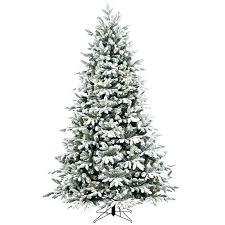 Slimline Christmas Tree Slim Clearance Shop Ft Lit Fir Flocked Artificial Trees Sale Foot Xmas Asda