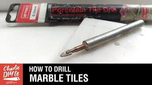 Drilling Through Ceramic Tile by How To Drill A Hole In Marble Tiles Episode 3 Youtube