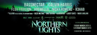 Northern Lights Music Festival Artist Line Up and Ticket Info