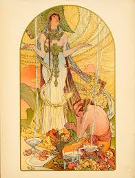 Vintage Art Posters French And Italian Nouveau