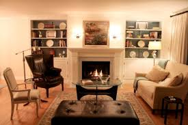 Living Room With Fireplace In The Middle by Living Room With Fireplace Impressive Ideas And Designs Photos