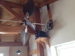 Belt Driven Ceiling Fan Diy by Horizontal Belt Driven Ceiling Fans Fan Axis Regarding New 2
