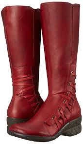 amazon com miz mooz women u0027s orson boot red 36 eu 6 m us mid calf