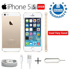 Factory Refurbished Apple iPhone 5s 16GB Gold Unlocked Like New