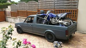 100 Rabbit Truck VW Caddy Dirtbike 1 VWGolf VW Golf Volkswagen Golf