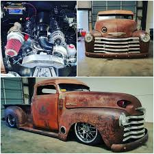 100 1947 Chevy Truck Pickup 53L 76mm Turbo Bagged 4l60e 373 Gears Not A