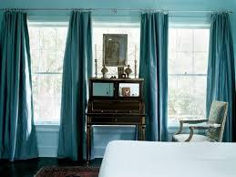 d馗o chambre bleu canard peinture murale peinture murale bleu ciel et rideaux couleur bleu