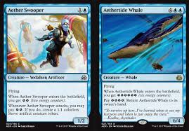 artifact deck mtg 2017 magic the gathering adventures aether revolt review blue