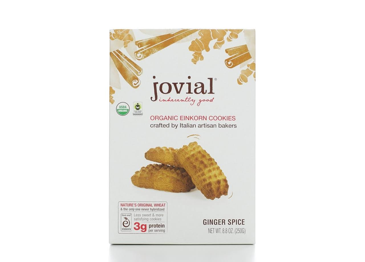 Jovial Organic Einkorn Cookies - Ginger Spice, 250g