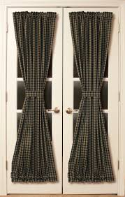 Vertical Striped Curtains Panels by Gorgeous French Door Curtains With Black Curtains White Double
