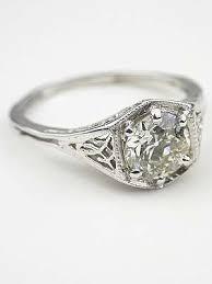 31 best vintage engagement rings images on Pinterest