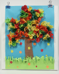 You Will Need 1 Sheet Of Blue Construction Paper 4 Brown A Strip Green And Scraps Red Yellow Orange