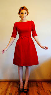 cutest party dress ever red velvet holiday dress 3 4 sleeve