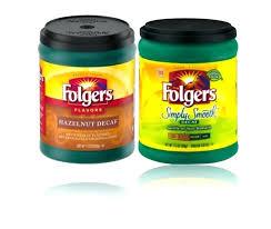 Folgers Coffee Singles Decaf Flavors Hazelnut Flavored Simply Smooth Medium Ground Oz