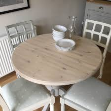 How To Whitewash An Old Table - Relovedbyjo.co.uk Cctab1139so4tldwwsv Cottage Whitewashed Ding Table Windsor Kitchen Farmhouse Ding Room Table Makeover Whitewash Top And White Chalk White Washed Room Chairs Ethan Allen Tables And Wash With Metal Rustic Wooden Set Of Six Aged With Fabric Seat Whosale Priced Amazoncom Acme Fniture 74685 Rosetta Ii Trestle Washed Chairs Dreamselectricco 38quot In How To Whitewash Cedar Make A Modern